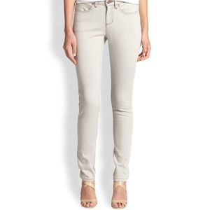 Eileen Fisher Whitewash Skinny Jeans Size 6